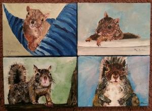 4 Squirrels